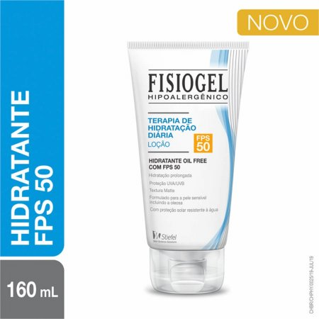 Loção Hidratante Facial Fisiogel Terapia de Hidratação Diária FPS50