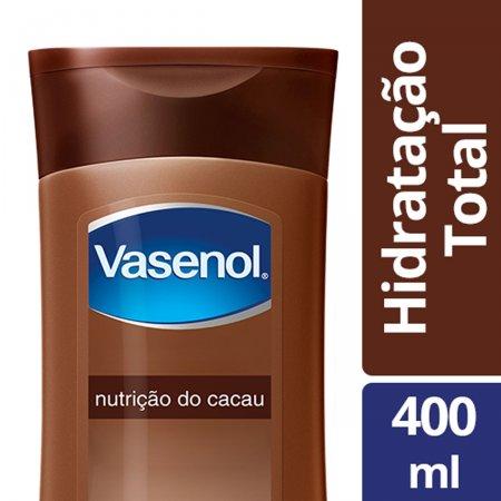 Loção Hidratante Vasenol Hidratação Total Nutrição do Cacau