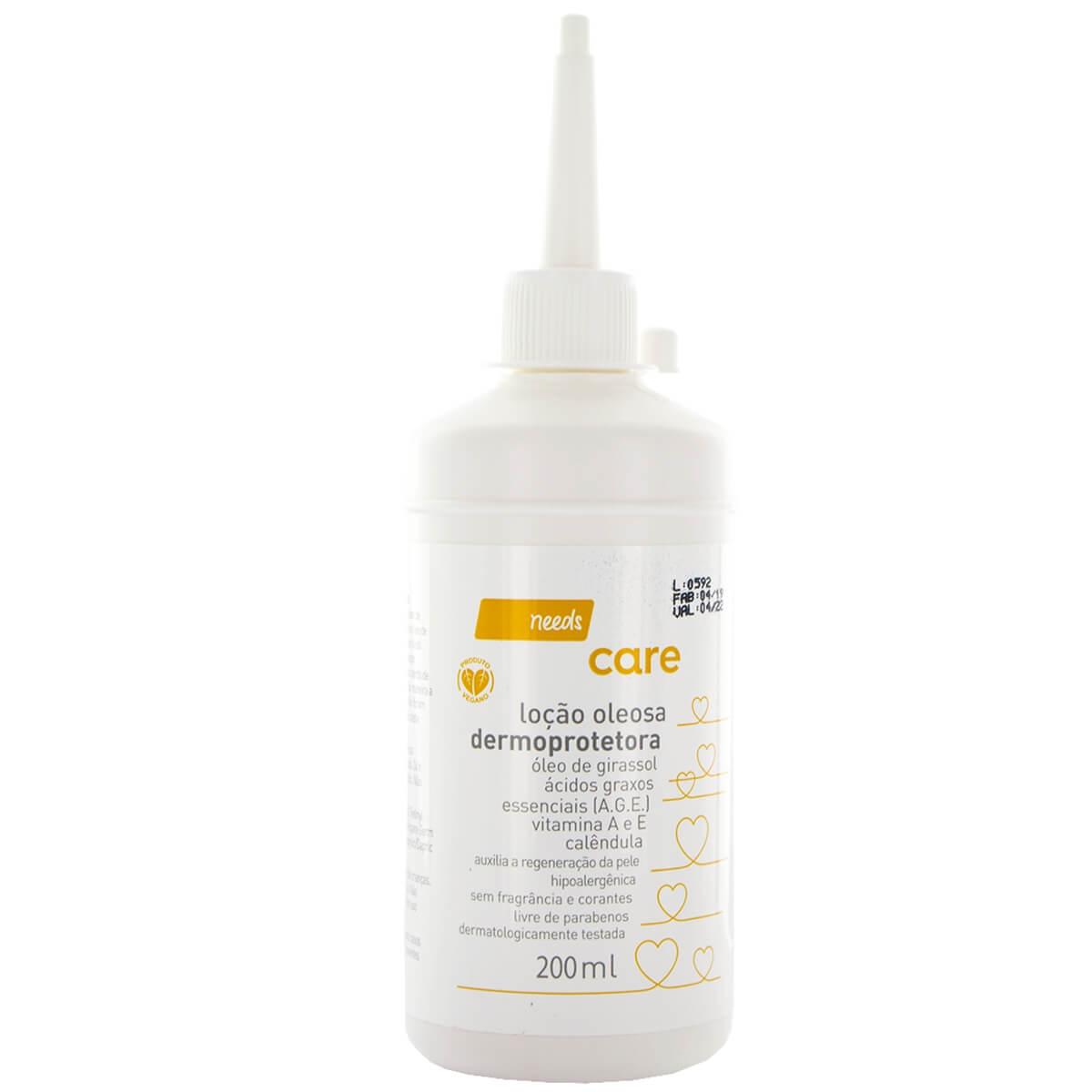 Loção Oleosa Dermoprotetora Needs Care com 200ml 200ml
