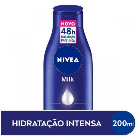 Loção Deo-Hidratante Nivea Milk Hidratação Profunda com 200ml