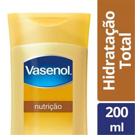 Loção Hidratação Total Vasenol Nutrição Mãos e Unhas com 200ml