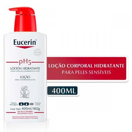 Loção Hidratante Corporal Eucerin pH5 com 400ml