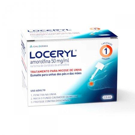 Antimicótico Esmalte Loceryl® 50mg | Droga Raia