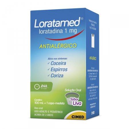 Loratamed 1mg/ml Xarope com 100ml