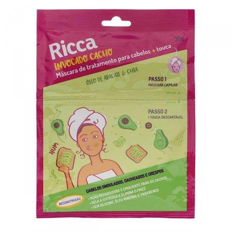 Máscara de Tratamento Capilar Ricca Reconstrução Òleo de Abacate e Chia 30g |