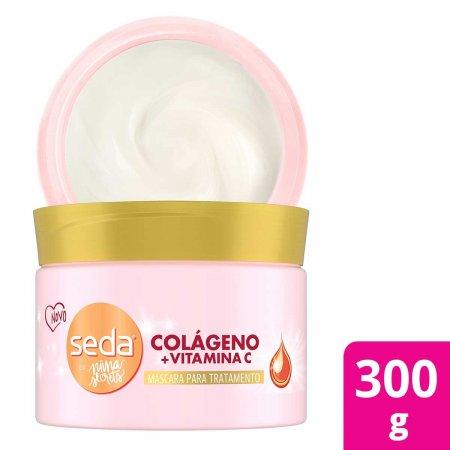 Máscara de Tratamento Seda by Nina Secrets Colágeno e Vitamina C com 300g | Foto 2