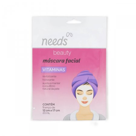 Máscara Facial Needs Vitaminas