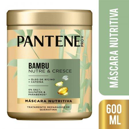 Máscara de Tratamento Capilar Pantene Pro-V Bambu com 600ml