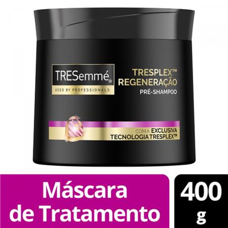 Máscara de Tratamento Capilar Pré-Shampoo Tresemmé Tresplex Regeneração com 400g