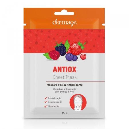 Máscara Facial Antioxidante Dermage Antiox Sheet
