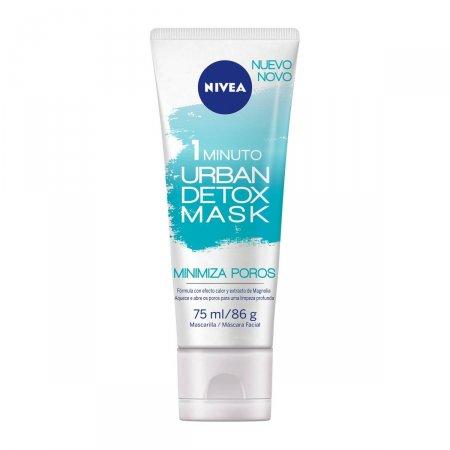 Máscara Facial Nivea Urban Detox Minimiza Poros