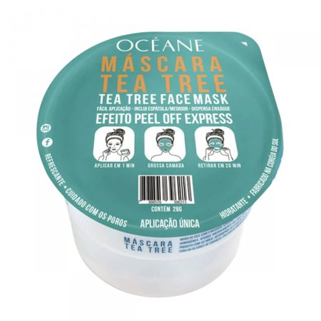 Máscara Facial Océane Tea Tree