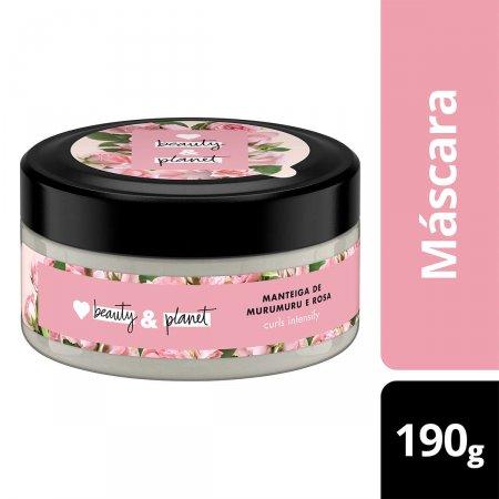 Máscara de Tratamento Love Beauty And Planet Curls Intensify Manteiga de Murumuru & Rosa