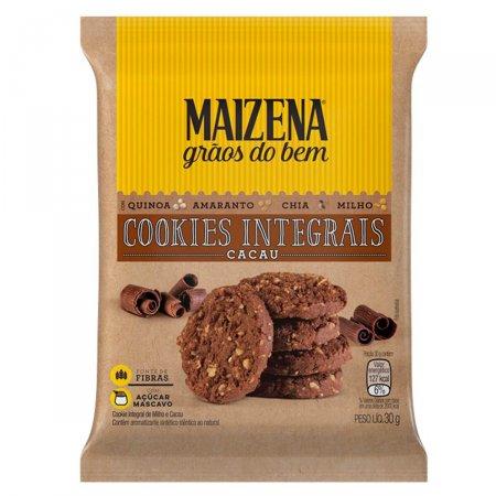 Mini Cookie Integral de Cacau Maizena Grãos do Bem