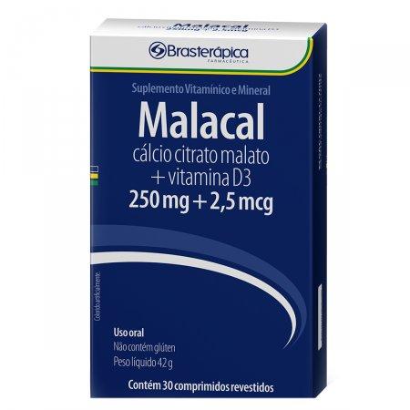 Malacal 250mg + 2,5mcg com 30 comprimidos