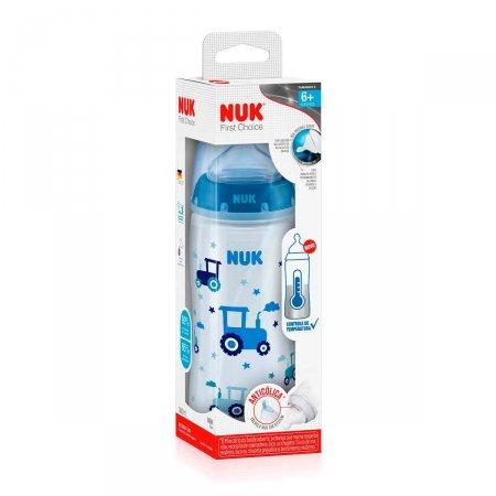 Mamadeira NUK First Choice Controle de Temperatura Tamanho 2 Boy