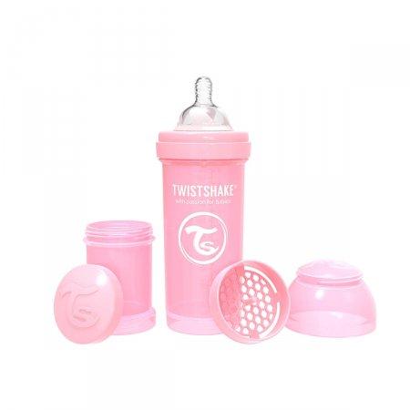 Mamadeira Twistshake Anti-Cólica Rosa