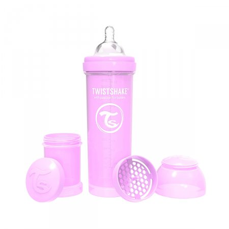 Mamadeira Twistshake Anti-Cólica Roxa