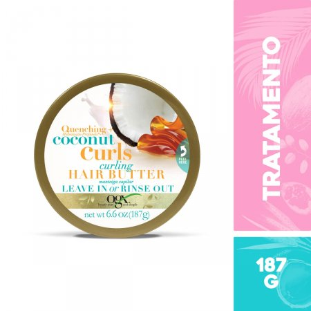 Manteiga Capilar Hidratante OGX Coconut Curls