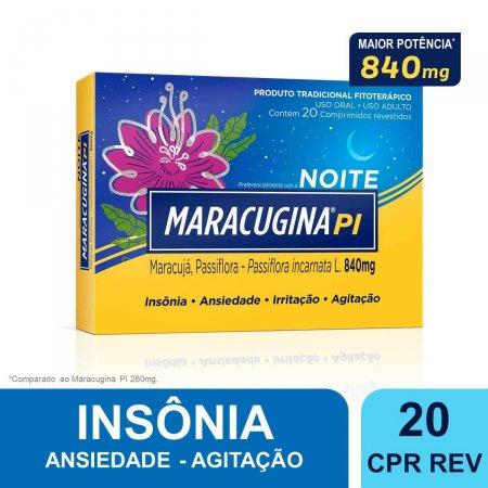 Maracugina PI 840mg com  20 Comprimidos |