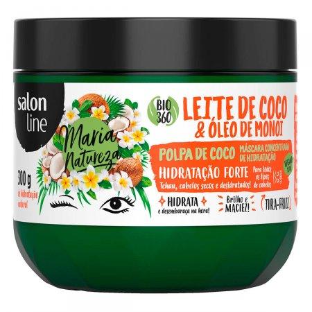 Máscara Leite de Coco Salon Line Maria Natureza