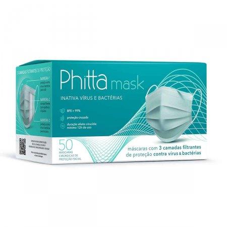 Máscara Cirúrgica Tripla Phitta 50 Unidades