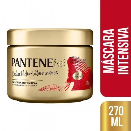 Máscara de Tratamento Pantene Cachos Hidra-Vitaminados 270ml