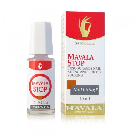 Base para Tratamento de Unhas Roídas Stop Mavala