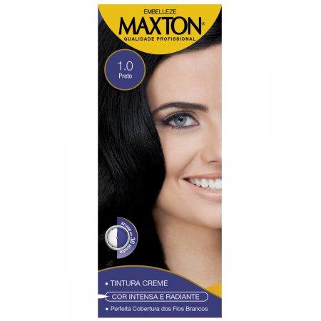 Kit Coloração Maxton Preto 1.0