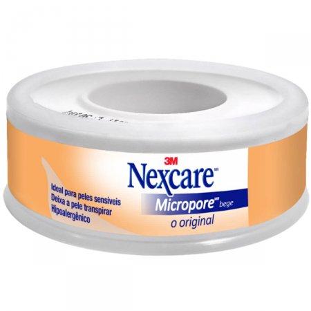 Fita Micropore Nexcare Bege 12mm X 4,5m