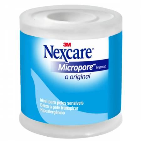 Fita Micropore Nexcare Branca - 50mm x 4,5m