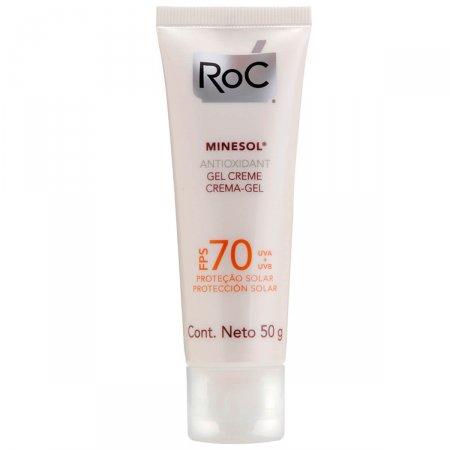 Protetor Solar Roc Minesol Antioxidante FPS70