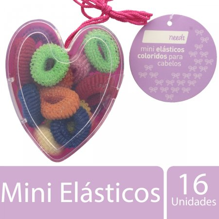 Mini Elásticos Coloridos