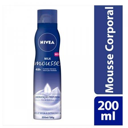 Mousse Hidratante Corporal Nivea Milk
