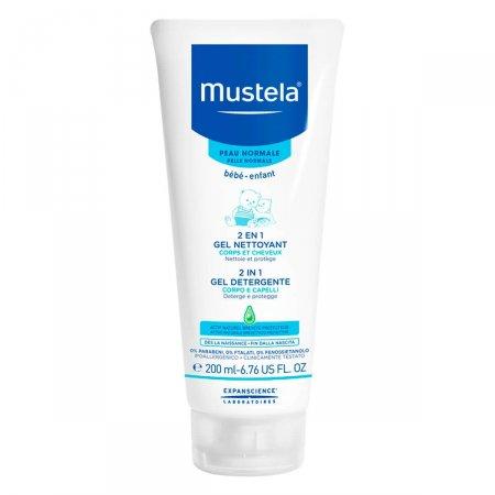 Shampoo Infantil Mustela 2 em 1 Cabelos e Corpo