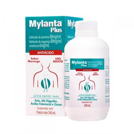 Mylanta Plus Sabor Morango