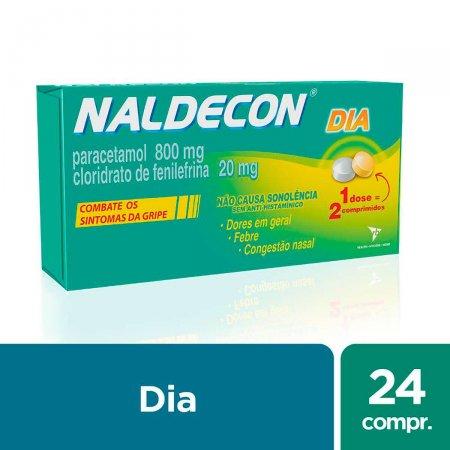 Naldecon Dia com 24 Comprimidos