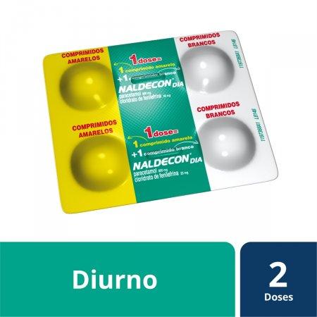Naldecon Dia com 4 Comprimidos