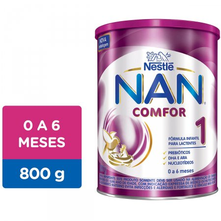 Fórmula Infantil Nestlé NAN Comfor 1 com 800g