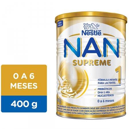 Fórmula Infantil Nestlé Nan Supreme 1 400 gramas | Droga Raia