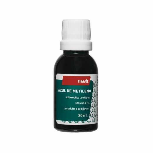 8d978bfe2 Antisséptico Needs Azul de Metileno 1% 30ml | Droga Raia