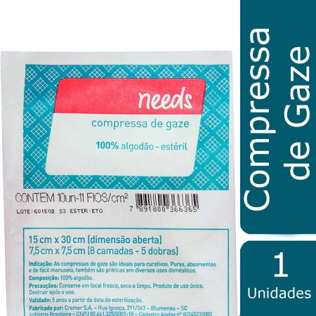 Compressa de Gaze