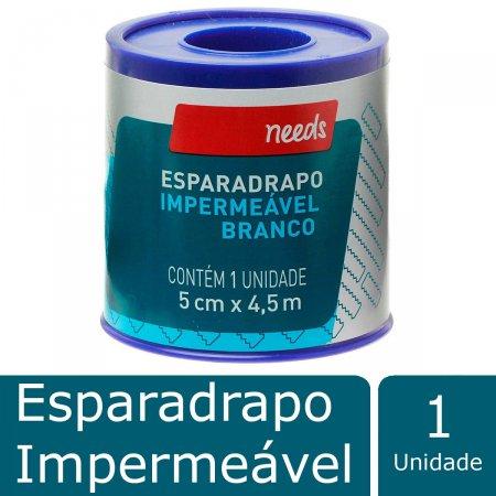 Esparadrapo Impermeável 5cm X 4,5m Needs
