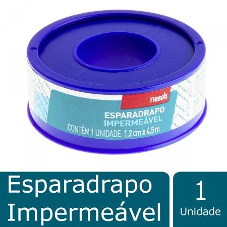 Esparadrapo Impermeável Branco 1,2cm X 4,5m Needs 1 Unidade | Drogaraia.com Foto 2
