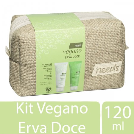 Kit Corporal Needs Vegano Erva Doce