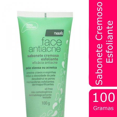 Sabonete Esfoliante Antiacne Needs