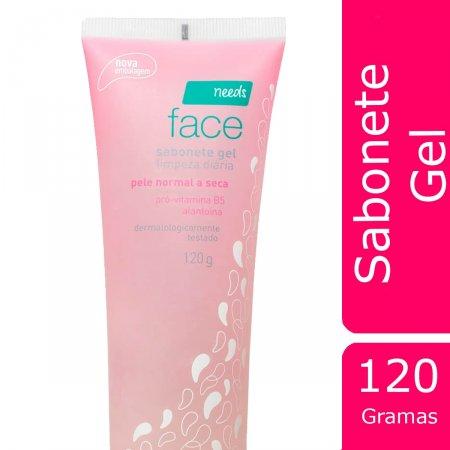 Sabonete Facial em Gel para Pele Normal a Seca