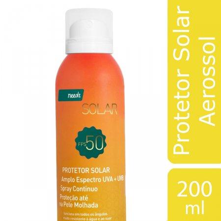 Protetor Solar Aerosol FPS 50