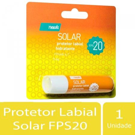 Needs Solar Protetor Labial Hidratante FPS20 3,6g | Drogaraia.com Foto 2