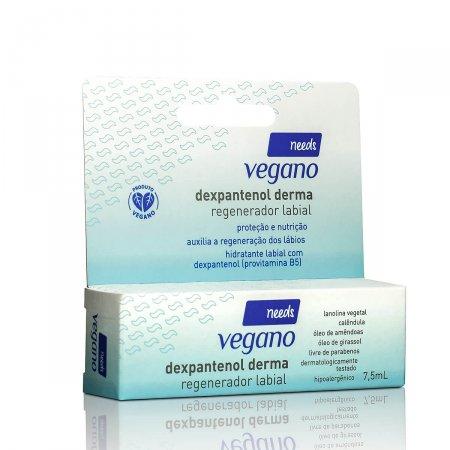 Regenerador Labial Needs Vegano Dexpantenol Derma